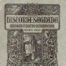 Libros antiguos: HISTORIA SAGRADA SEGUNDO GRADO BRUÑO (S.F.). Lote 133563730