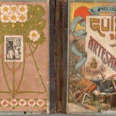Libros antiguos: GUIA DEL ARTESANO PALUZIE, 1914. Lote 133834754