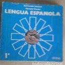 Libros antiguos: LENGUA 1º DE BUP. ANAYA 1978.FERNANDO LÁZARO. Lote 134146370