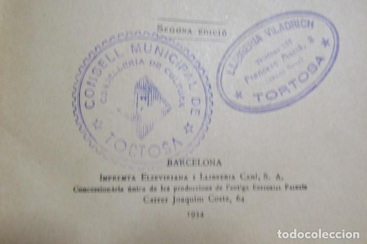 Libros antiguos: LA MÀ DE L'HOME MANUEL MARINEL-LO DIBUIXOS S. LLOBET 2ª EDICIÓ A.1934 EN CATALA EXCEL.LENT ORIGINAL - Foto 3 - 134423718