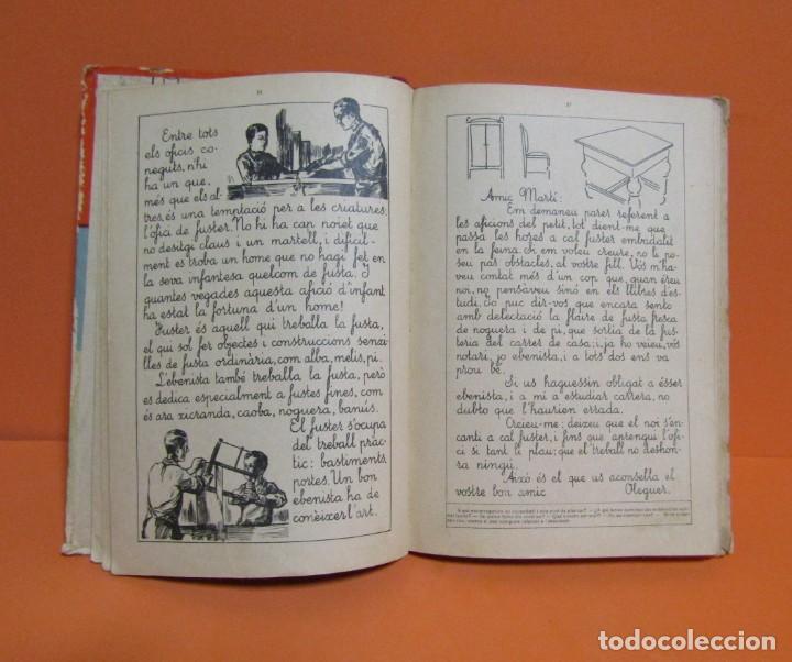 Libros antiguos: LECTURES MANUSCRITES -ALBERT MONTANA DIBUIXOS J. CAMINS 2ª EDICIÓ A.1933 EN CATALA ORIGINAL - Foto 5 - 134429690