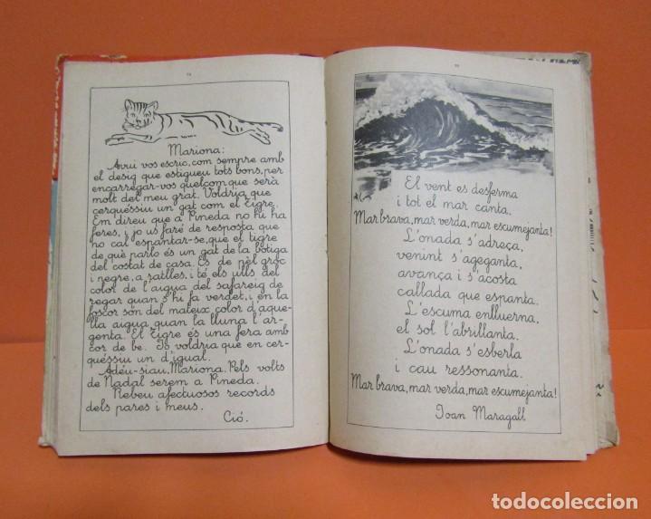 Libros antiguos: LECTURES MANUSCRITES -ALBERT MONTANA DIBUIXOS J. CAMINS 2ª EDICIÓ A.1933 EN CATALA ORIGINAL - Foto 6 - 134429690