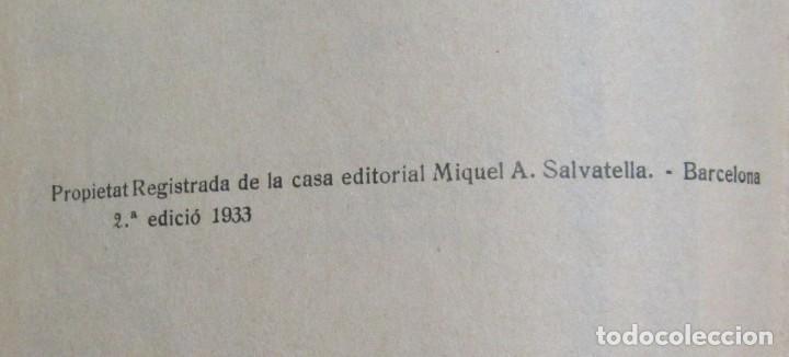 Libros antiguos: LECTURES MANUSCRITES -ALBERT MONTANA DIBUIXOS J. CAMINS 2ª EDICIÓ A.1933 EN CATALA ORIGINAL - Foto 7 - 134429690