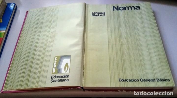 Libros antiguos: NORMA 6 LIBRO CONSULTA LENGUAJE EGB SANTILLANA 1972 - Foto 2 - 134814054