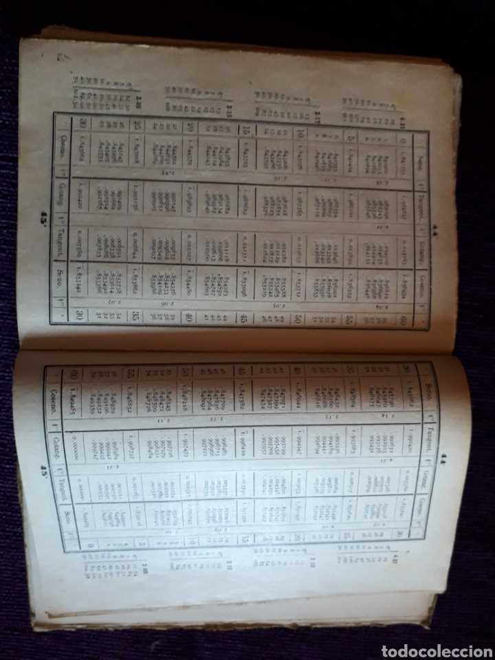 Libros antiguos: TABLAS LOGARITMOS VULGARES - Foto 5 - 135317435