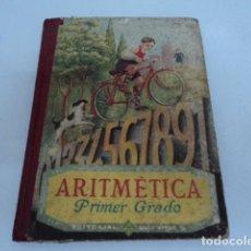 Libros antiguos: LIBRO ANTIGUO ESTUDIO COLEGIO TEXTO ESCUELA ARITMETICA PRIMER GRADO DE LUIS VIVES EDELVIVES . Lote 135719087