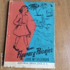Libros antiguos: FIGURAS Y PAISAJES . Lote 136123498