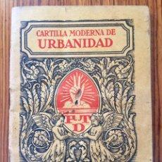Libros antiguos - Original Cartilla moderna de urbanidad 1928 FTD - Ilustrador Opisso - 136340206