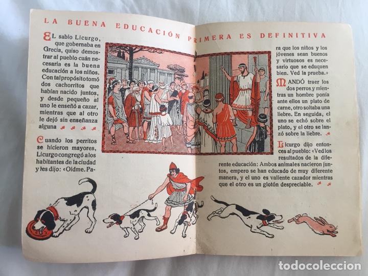 Libros antiguos: Original Cartilla moderna de urbanidad 1928 FTD - Ilustrador Opisso - Foto 5 - 136340206