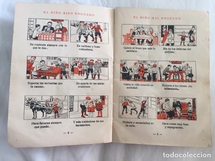 Libros antiguos: Original Cartilla moderna de urbanidad 1928 FTD - Ilustrador Opisso - Foto 6 - 136340206