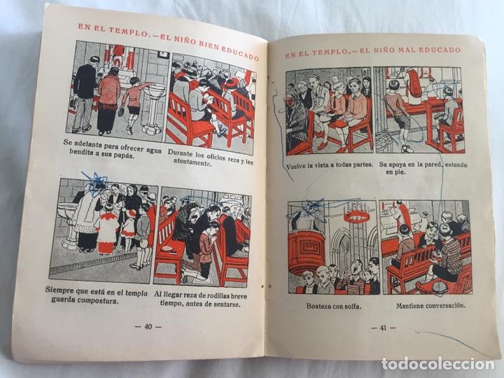 Libros antiguos: Original Cartilla moderna de urbanidad 1928 FTD - Ilustrador Opisso - Foto 7 - 136340206
