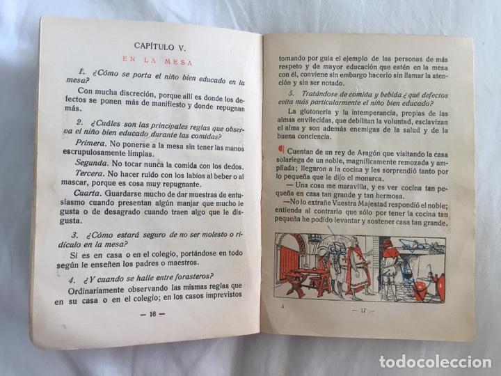Libros antiguos: Original Cartilla moderna de urbanidad 1928 FTD - Ilustrador Opisso - Foto 9 - 136340206