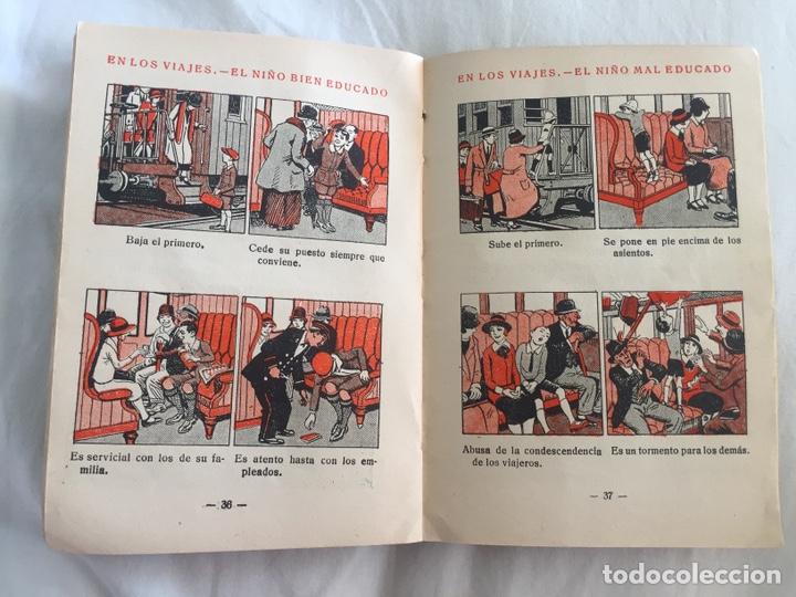 Libros antiguos: Original Cartilla moderna de urbanidad 1928 FTD - Ilustrador Opisso - Foto 10 - 136340206