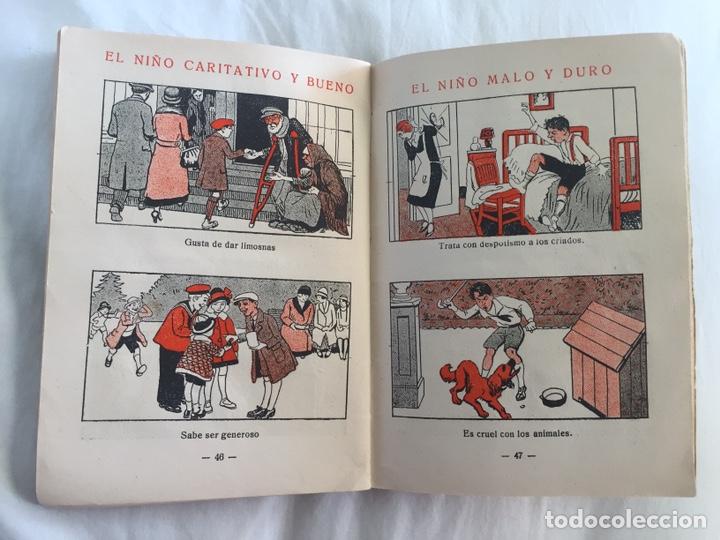 Libros antiguos: Original Cartilla moderna de urbanidad 1928 FTD - Ilustrador Opisso - Foto 12 - 136340206
