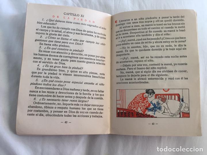 Libros antiguos: Original Cartilla moderna de urbanidad 1928 FTD - Ilustrador Opisso - Foto 14 - 136340206