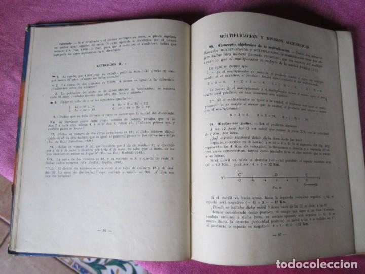 Libros antiguos: MATEMATICAS CUARTO CURSO. EDIT, LUIS VIVES - Foto 4 - 137986370