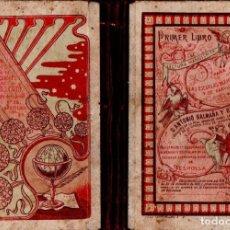 Libros antiguos: A. BALMAÑA Y ROS : PRIMER LIBRO DE LECTURA MANUSCRITA (ESPOLLA, 1921). Lote 138097082