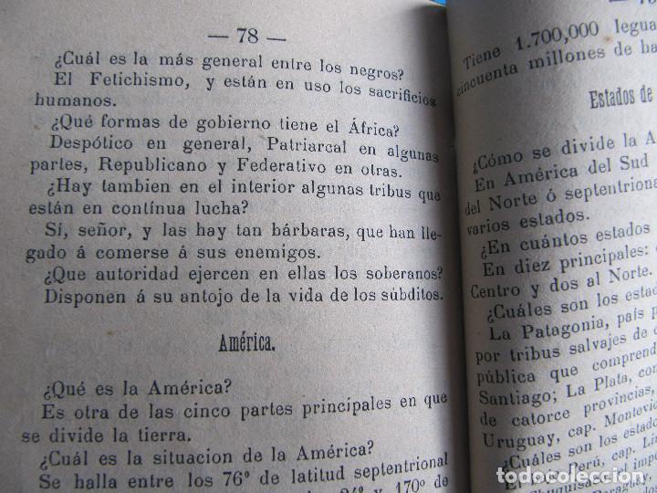 Libros antiguos: NOCIONES DE GEOGRAFÍA. JOSÉ HOMS PBRO. VICH, IMPRENTA Y LIBRERÍA DE RAMON ANGLADA, 1891. - Foto 5 - 140398166