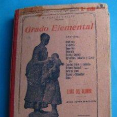 Libros antiguos: ENCICLOPEDIA GRADO ELEMENTAL. M. PORCEL RIERA. IMP DE A. HOMAR, PALMA DE MALLORCA, 1921.. Lote 140419210