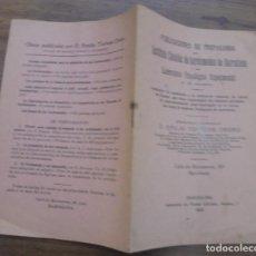 Libros antiguos: PUBLICACIONES DE PROPAGANDA DEL INSTITUTO CATALÁN DE SORDOMUDOS Y LABORATORIO PSICO. BARCELONA 1915. Lote 140428782