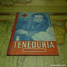 Libros antiguos: TENEDURÍA. PRIMER GRADO. LUIS VIVES. ZARAGOZA 1954.. Lote 141454386