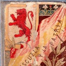 Livres anciens: LA ESCUELA Y LA PATRIA. LECTURAS MANUSCRITAS. MAGDALENA SANTIAGO- FUENTES. HACIA 1928. . Lote 146367858
