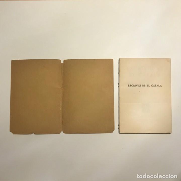 Libros antiguos: Escriviu bé el català. Normes concises i precises - Rnd. P. Vicenç Codina, C.M.F. - Foto 2 - 146834726