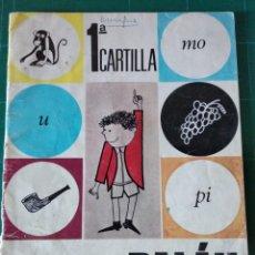 Libros antiguos: CARTILLA PALÁU 1976 - 1ª 1º 1 - MÉTODO FOTOSILÁBICO - EDITORIAL ANAYA -. Lote 146853334