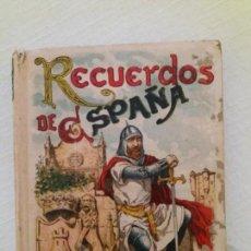 Libros antiguos: RECUERDOS DE ESPAÑA. EL PENSAMIENTO INFANTIL. LIBRO VII. SATURNINO CALLEJA. Lote 147605130