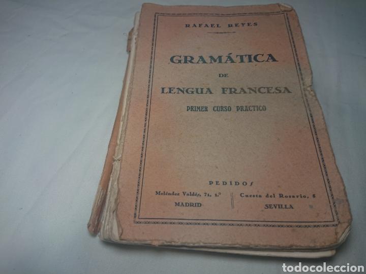 Libros antiguos: Gramática Suscinta de Lengua Francesa, 1928, por Rafael Reyes - Foto 2 - 147621242
