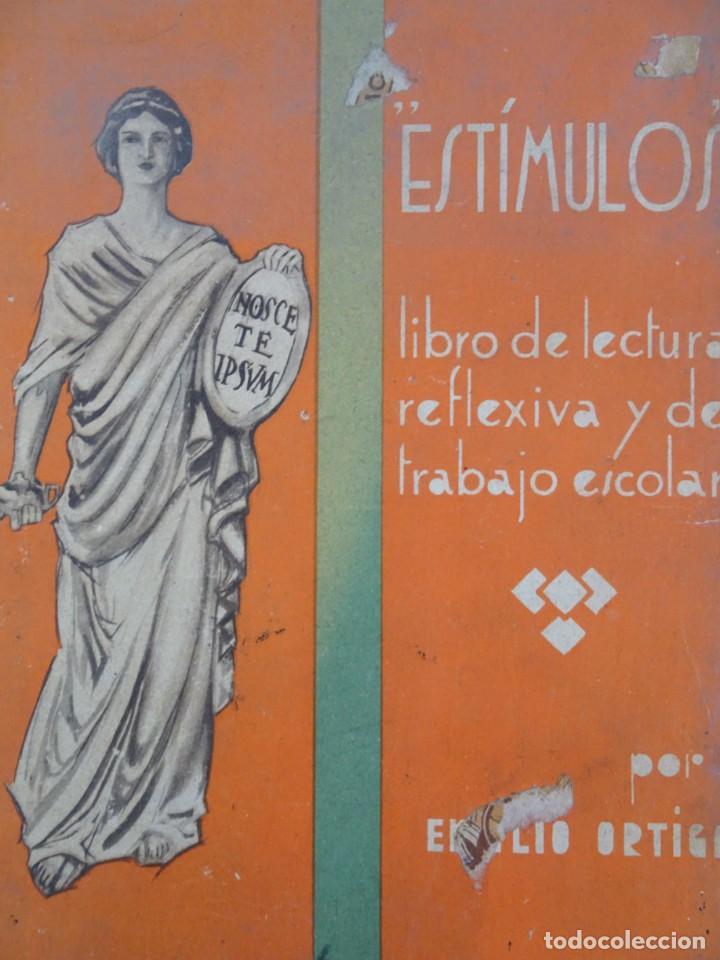 Libros antiguos: LOTE DE 9 ANTIGUOS LIBROS ESCOLARES VARIADOS, VER FOTOS - Foto 8 - 151380280