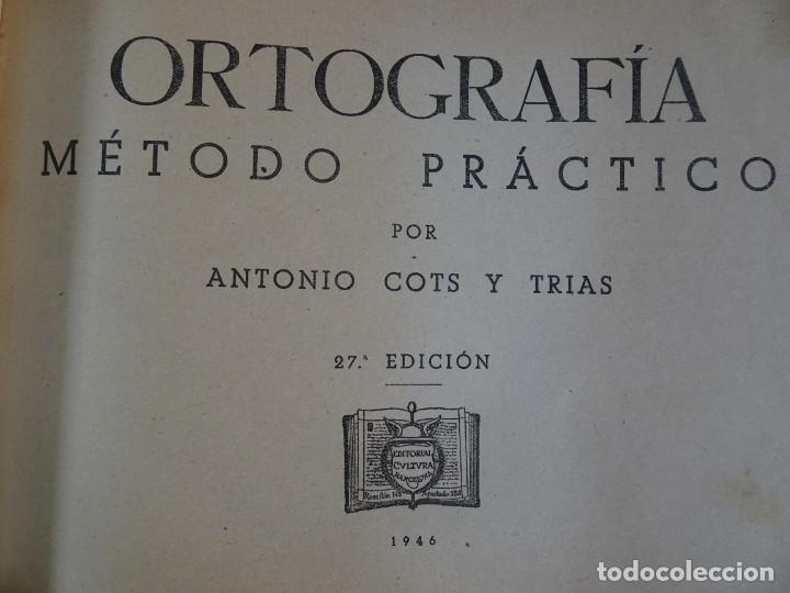 Libros antiguos: LOTE DE 9 ANTIGUOS LIBROS ESCOLARES VARIADOS, VER FOTOS - Foto 10 - 151380280