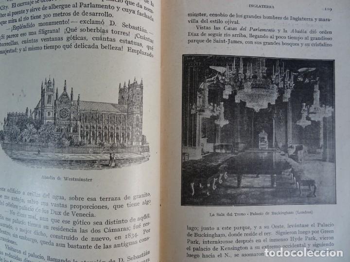 Libros antiguos: LOTE DE 9 ANTIGUOS LIBROS ESCOLARES VARIADOS, VER FOTOS - Foto 15 - 151380280