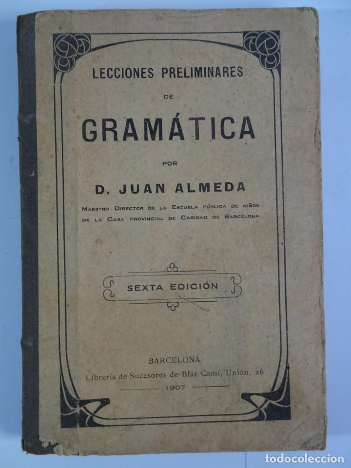 Libros antiguos: LOTE DE 9 ANTIGUOS LIBROS ESCOLARES VARIADOS, VER FOTOS - Foto 20 - 151380280