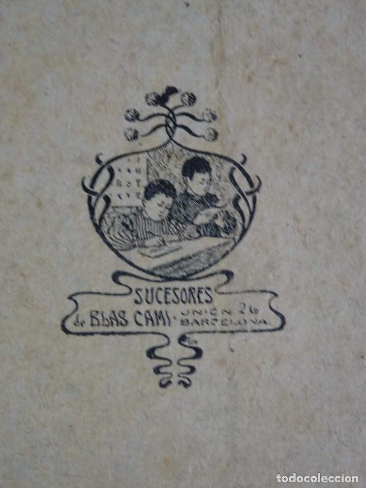 Libros antiguos: LOTE DE 9 ANTIGUOS LIBROS ESCOLARES VARIADOS, VER FOTOS - Foto 23 - 151380280