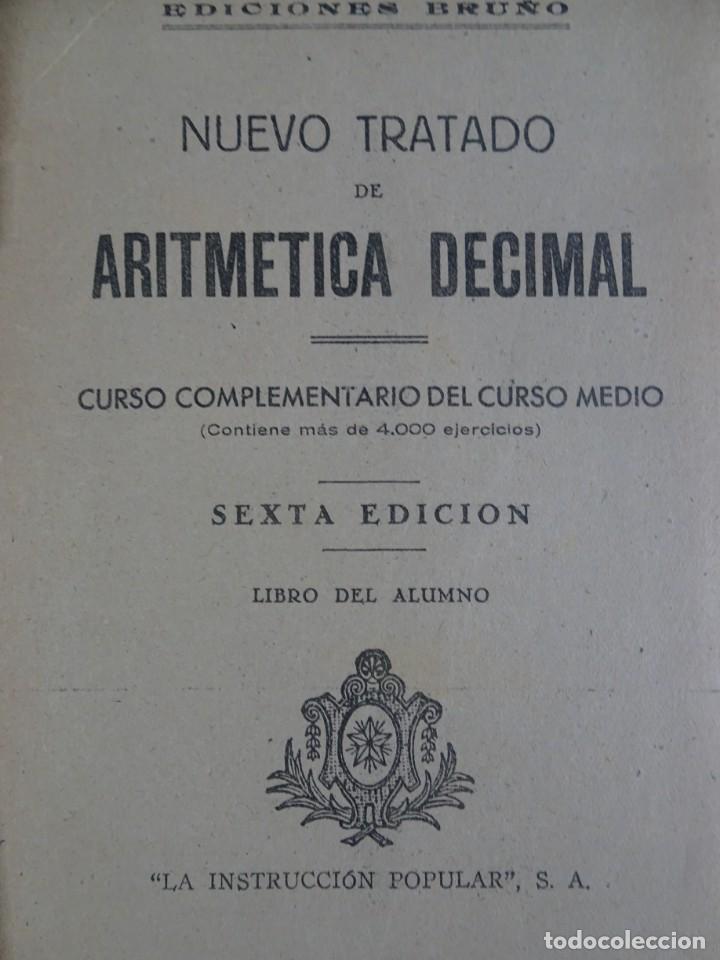Libros antiguos: LOTE DE 9 ANTIGUOS LIBROS ESCOLARES VARIADOS, VER FOTOS - Foto 26 - 151380280