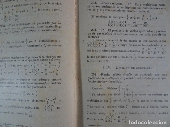 Libros antiguos: LOTE DE 9 ANTIGUOS LIBROS ESCOLARES VARIADOS, VER FOTOS - Foto 27 - 151380280