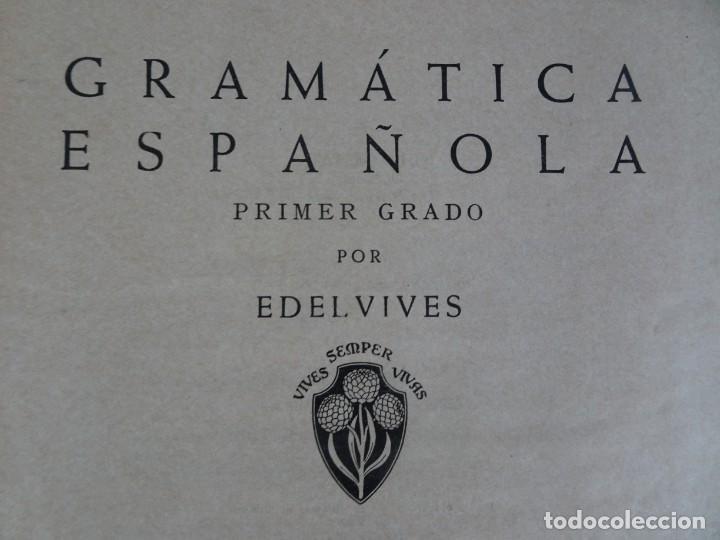Libros antiguos: LOTE DE 9 ANTIGUOS LIBROS ESCOLARES VARIADOS, VER FOTOS - Foto 31 - 151380280