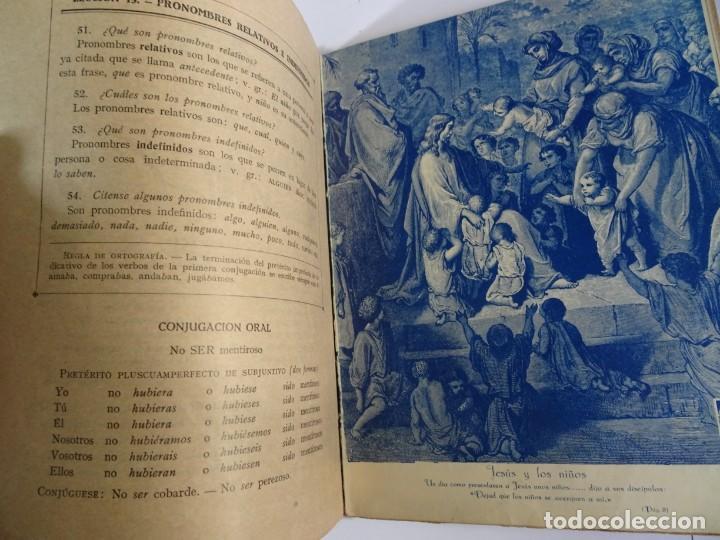 Libros antiguos: LOTE DE 9 ANTIGUOS LIBROS ESCOLARES VARIADOS, VER FOTOS - Foto 34 - 151380280