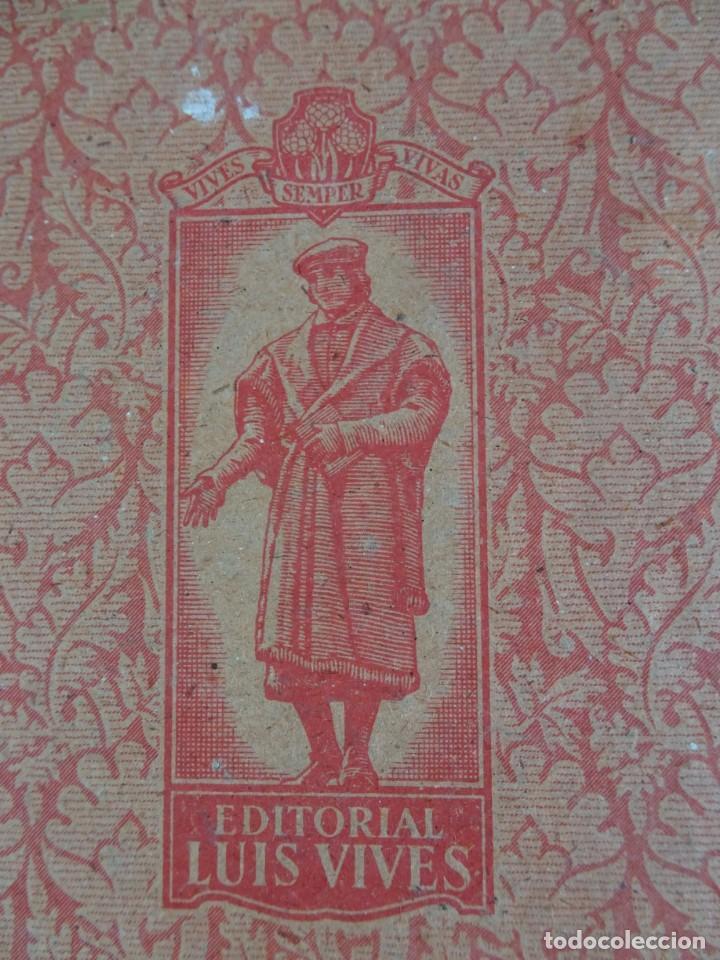 Libros antiguos: LOTE DE 9 ANTIGUOS LIBROS ESCOLARES VARIADOS, VER FOTOS - Foto 35 - 151380280