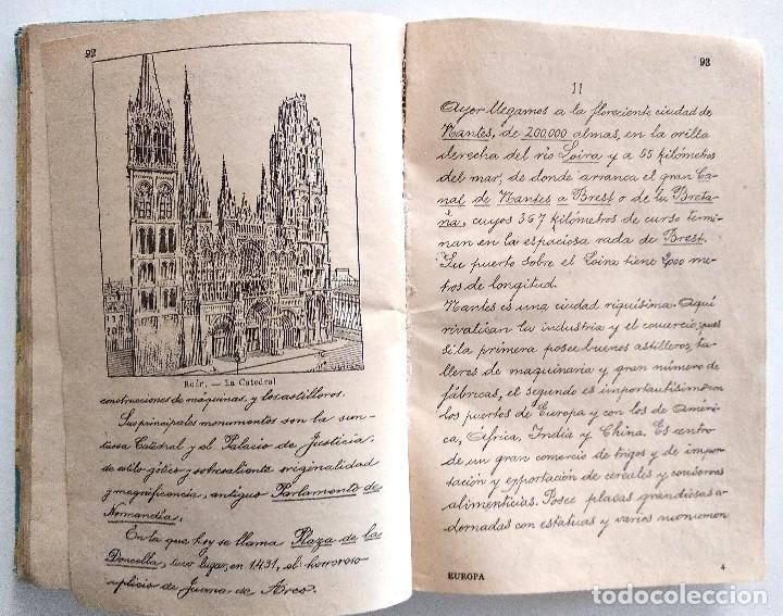 Libros antiguos: EUROPA, SEGUNDO MANUSCRITO - JOSÉ DALMAU - EDITORIAL DALMAU - Foto 6 - 148252754