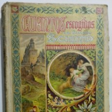 Libros antiguos: CUENTOS ESCOGIDOS DEL CANONICO SCHMID, SATURNINO CALLEJA, BIBLIOTECA PERLA XXVII. Lote 155674588