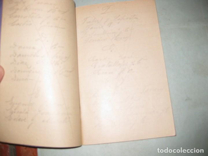 Libros antiguos: libreta quaderno anotaciones academia cots para apuntes escolar . algunas paginas escritas en lapiz - Foto 2 - 149816214