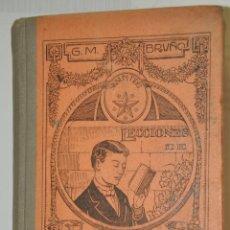 Libros antiguos: LECCIONES DE LENGUA CASTELLANA, G.M.BRUÑO, VER TARIFAS ECONOMICAS ENVIOS. Lote 150106150