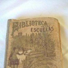 Libros antiguos: BIBLIOTECA DE LAS ESCUELAS. LA TIERRA, ESTUDIO GEOGRÁFICO TOMO VI. SATURNINO CALLEJA. MADRID. 1900 -. Lote 151589246