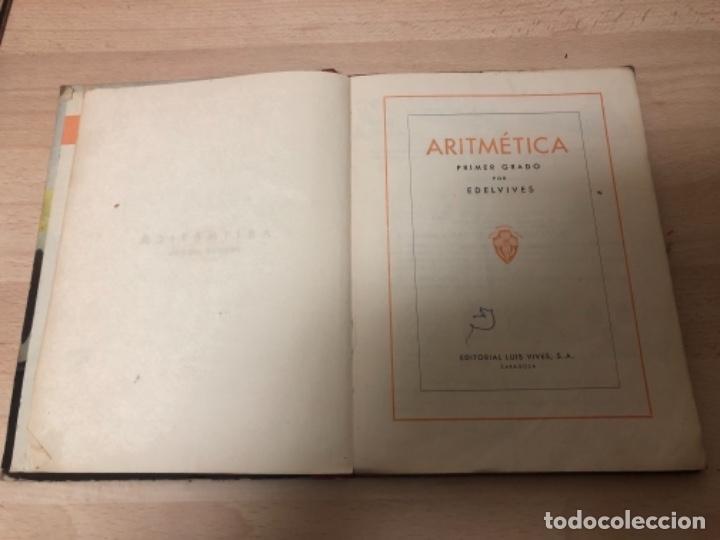 Libros antiguos: ANTIGÜO LIBRO DE COLECCIÓN ARITMÉTICA PRIMER GRADO AÑO 1.958 - Foto 3 - 151702126