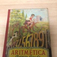 Libros antiguos: ANTIGÜO LIBRO DE COLECCIÓN ARITMÉTICA PRIMER GRADO AÑO 1.958. Lote 177370063