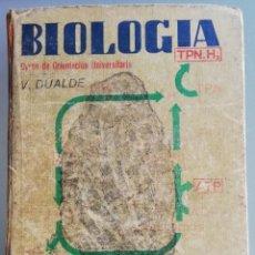 Libros antiguos: BIOLOGÍA COU ED. 1976. Lote 152692350