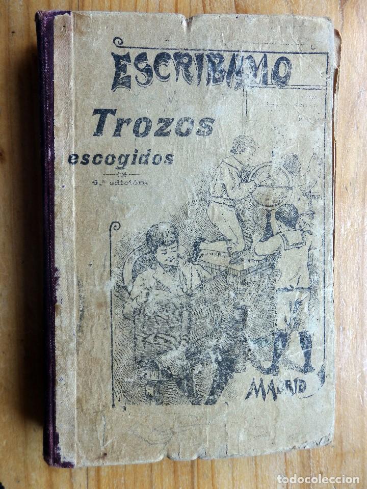TROZOS. MÉTODO DE LECTURA EN PROSA Y VERSO DE 1904 (Libros Antiguos, Raros y Curiosos - Libros de Texto y Escuela)