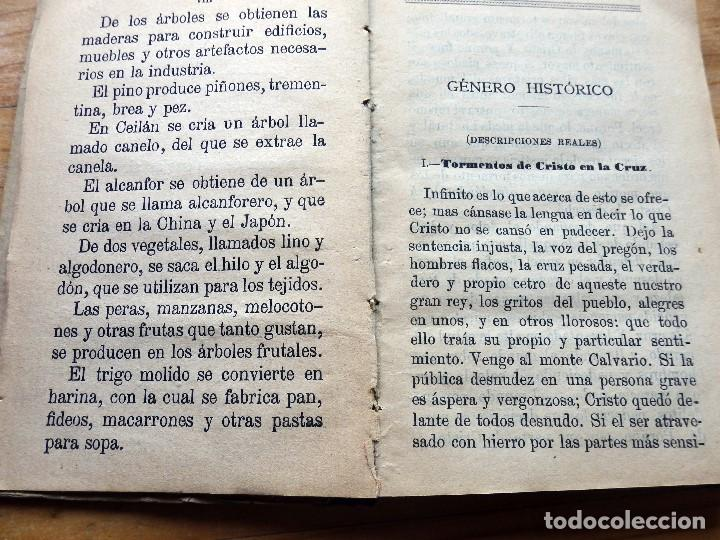Libros antiguos: Trozos. Método de lectura en prosa y verso de 1904 - Foto 5 - 152932934